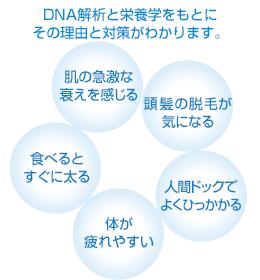 DNA解析と栄養学